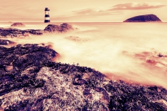 Taken for ODC. Lighthouse at Black Point, Penmon.