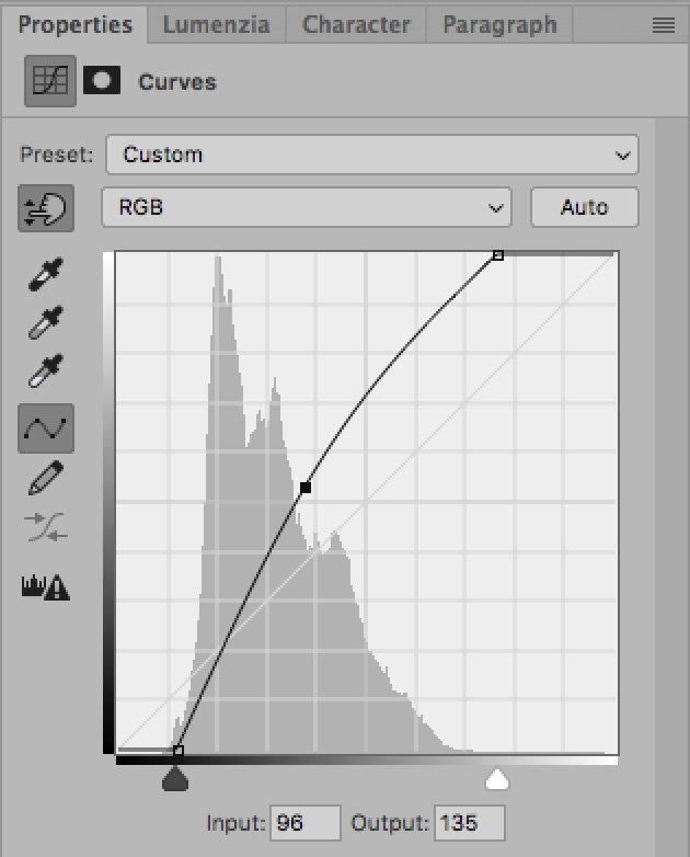 How To Use The Curves Tool: An Introduction / Tools & Techniques, Photoshop [brighter]