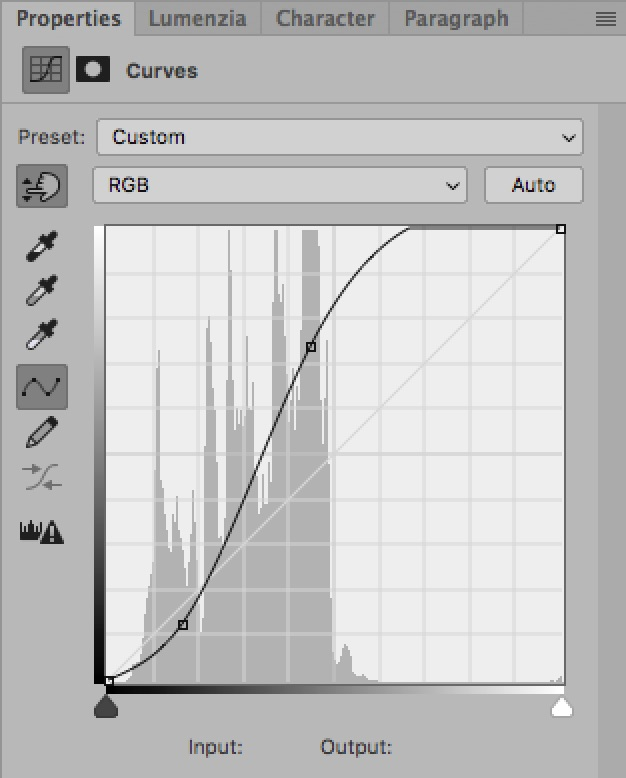 How To Use The Curves Tool: An Introduction / Tools & Techniques, Photoshop [candy curve]