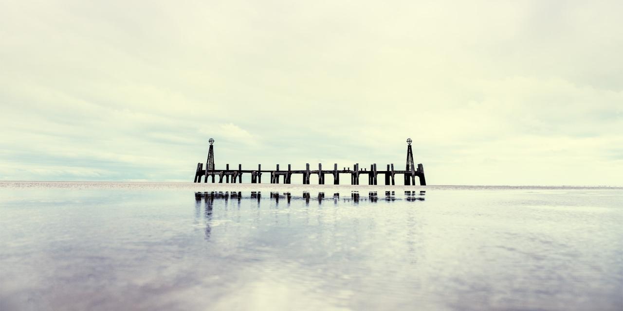 St. Annes Pier / St Annes Pier, St Annes, Show the Original, Landscape Photography, Fujinon XF 16-55mm f/2.8, Fujifilm X-T1, Architectural Photography [st annes pier f 1280x640]