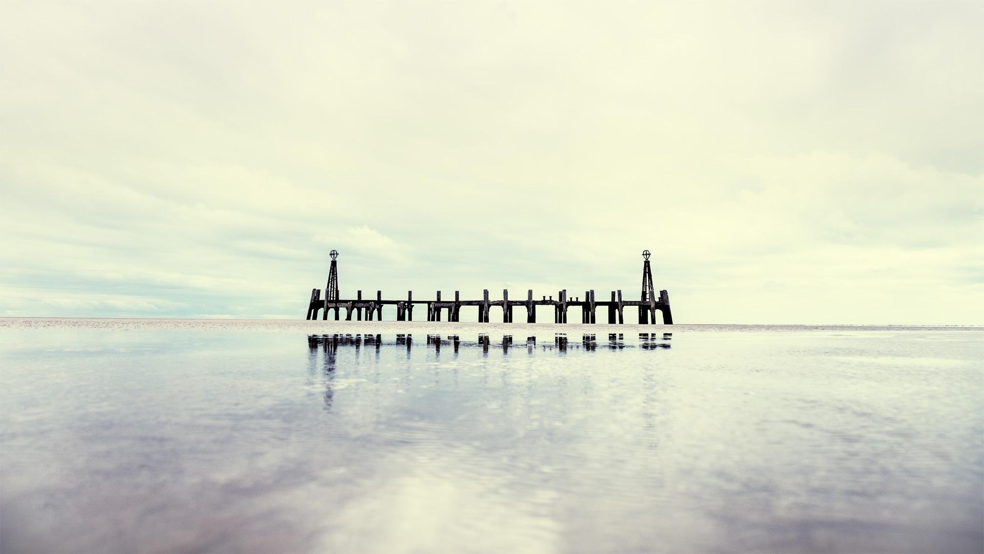 St. Annes Pier / St Annes Pier, St Annes, Show the Original, Landscape Photography, Fujinon XF 16-55mm f/2.8, Fujifilm X-T1, Architectural Photography [st annes pier f]