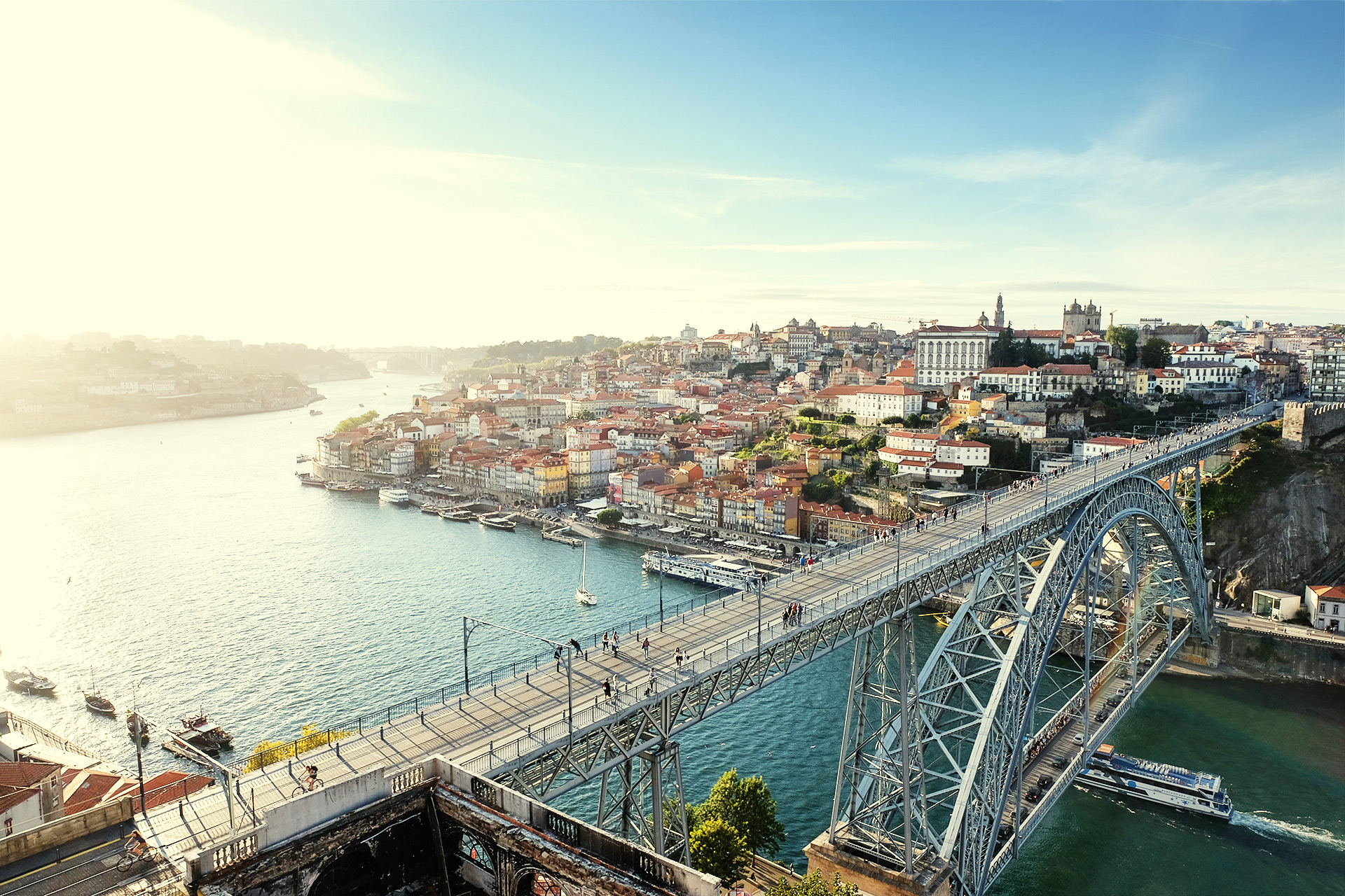 Porto #1 (Dom Luís I Bridge) / Travel, Show the Original, Portugal, Porto, Fujinon XF 16-55mm f/2.8, Fujifilm X-T2 [porto 1 f 1]