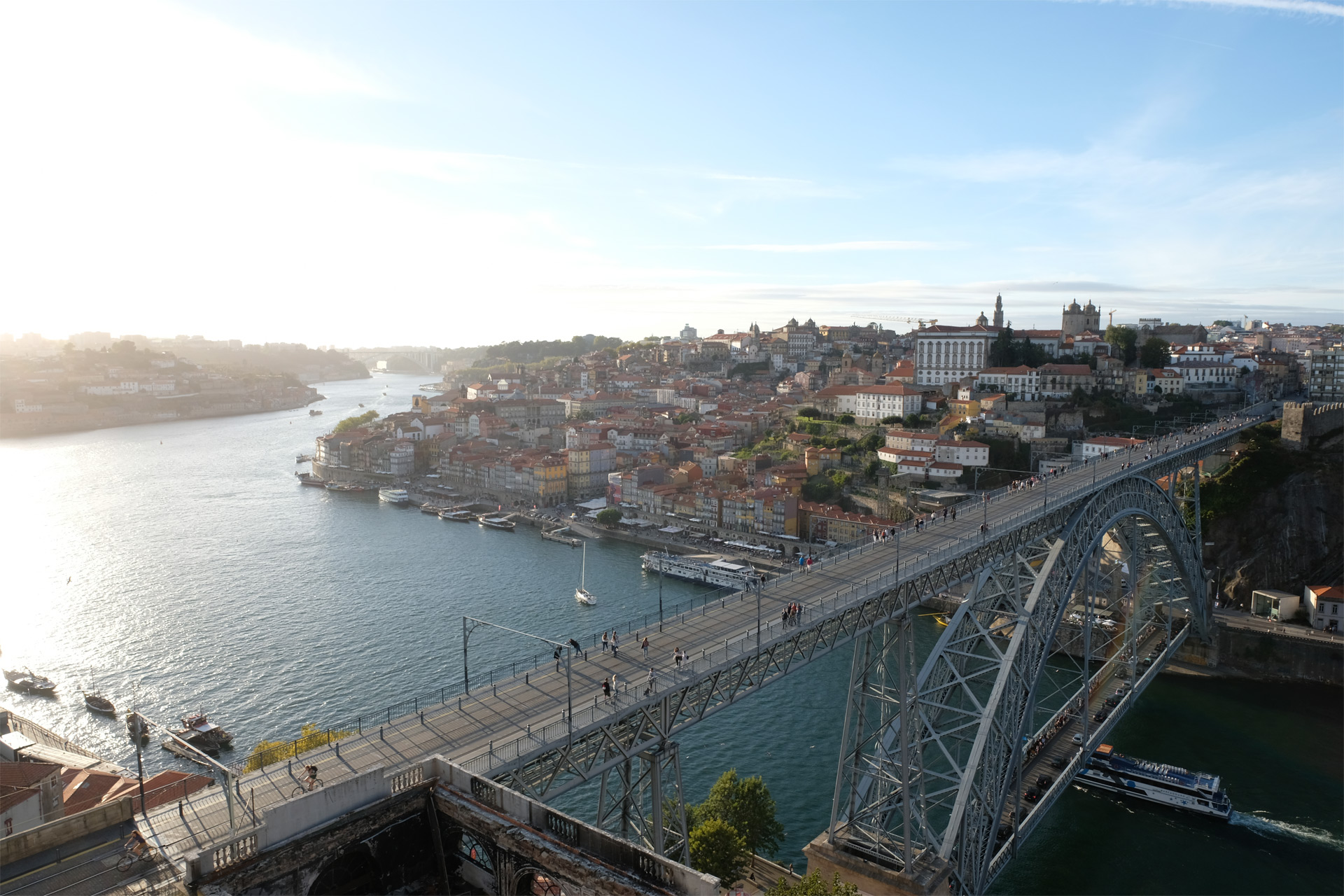 Porto #1 (Dom Luís I Bridge) / Travel, Show the Original, Portugal, Porto, Fujinon XF 16-55mm f/2.8, Fujifilm X-T2 [porto 1 o 1]