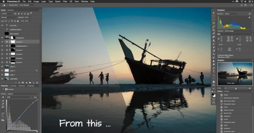 The Photoshop Masterclass /  [course image v3 fb 1 500x262]
