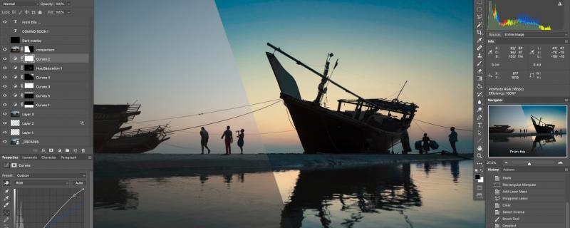 Photography & Postproduction Training for Photographers /  [course image v3 fb 800x320]