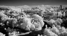 Stanley Park, May 2019 (IR) / Stanley Park, Show the Original, Landscape Photography, Infrared, Fujinon XF 14mm f/2.8, Fujifilm X-E2, Blackpool [veliko turnovo bulgaria ir f 275x148]