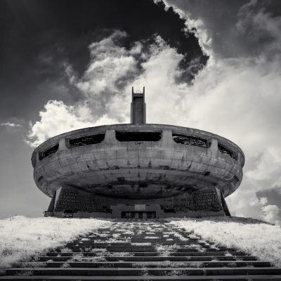 Photography /  [buzludzha monument ir 2018 f 400x400]